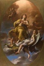 Nicolò Ricciolini (1687-1760) - Allegoria della speranza della beatitudine / Allegoria della fortezza