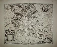 Vicenza - Veneto - Blaeu 1667