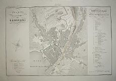 Pianta di Cagliari - Zuccagni Orlandini 1845