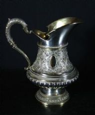 Caraffa in argento e vermeil - G. Schimtz 1880 circa