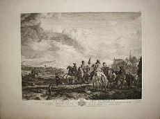 Le rassemblement des chasseurs - Moyreau / Wouwerm 1737