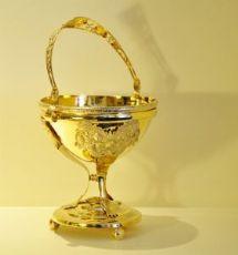 Coppa in argento vermeil
