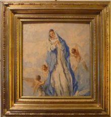 Cosimo Privato - Maria con putti