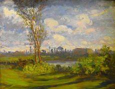 Laurenti - Paysage de 1923