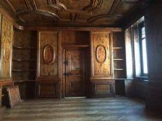 darb099 boiserie compreso soffitto in larice,   misura altezza m. 3 , stanza m 5,50 x 5,