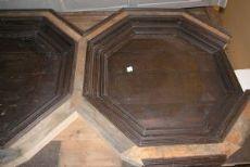 darb100 soffitto a formelle ottagonali, epoca '500, mq. 30