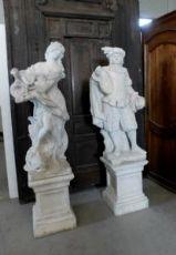 "dars216对雕像的从早期的""900花园,高200,基座50×50"""