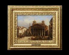 """Giovanni Migliara, """"Veduta del Pantheon"""""""