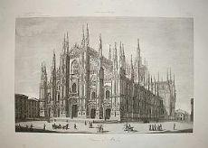 Duomo di Milano - A. Zuccagni Orlandini 1845