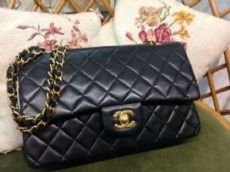 Classique Chanel 2.55 Sac Taille Moyenne