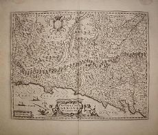 Riviera di Levante - Liguria - Blaeu 1667