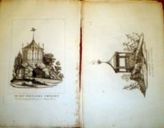 vedute Parcdi Betz fine XVIII inizio XIX