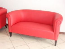 par de sofás de cuero thirties 150x75 h.70