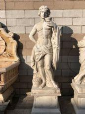 Scultura in marmo raffigurante bacco 230 con base