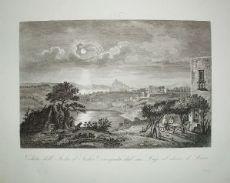伊斯基亚 - 那不勒斯 -  Zuccagni Orlandini 1845
