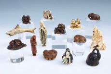 Collection Netsuke Edo Meiji