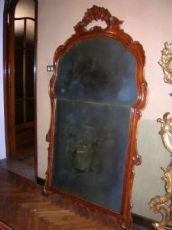 specchiera a pala Venezia XVIII secolo