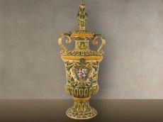 Paar monumentaler Vasen 1925 - 1940