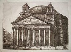 Pantheon - Roma - L. Rossini 1820