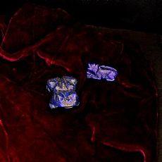 Piccole sculture in lapislazzuli