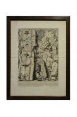 """Giovanni Battista Piranesi (1720-1778) """"Muro interno della Stanza, costrutto di mattoni della stessa grandezza..."""""""