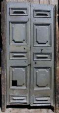 ptci376 Tür neapolitanischen Ära ersten '800, lackiert, mis. h CM220 x 120 Transp.