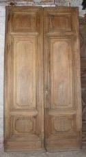 ptci401 Eingangstür in Nussbaum 900, mis. h 272 cm x 138