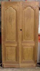 ptci404 Tür in Nussbaum Maßnahme alt. 200 cm x Breite. 109 cm