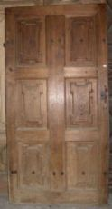 ptci406 von Tür zu Tür in Nussbaum, mis. h 214 cm x 108 cm