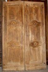 ptci408 Tür gebeizt Nussbaum, mis. h cm210 x Breite. 136