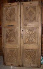 portas ptci411 esculpir mes entre. h 197 centímetros x 119 cm de largeur