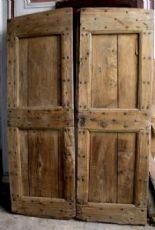ptcr3 Tür rustikalen Pappel, mis. h 190 cm x Breite. 128 cm