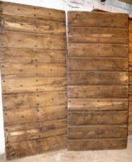 ptcr343 Tür Kastanien Piemont, mis. h 230 x 200 cm Breite.,