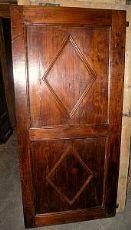pte037 Tür in pioppo restaurata meisten.75 x 194,5 cm