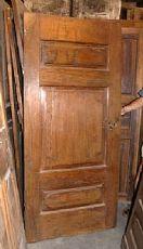 pti377 puerta de nogal con mis panel central.85 x 184