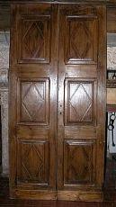 porta Antica pti433 losanghe in noce Ära 700 my.H205 x 102cm