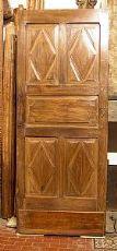 pti437 Nussbaum Tür zweiseitig, MIS.80 x 200 cm