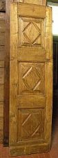 pti460 una anta in pioppo a losanghe mis.cm 55 x 188cm