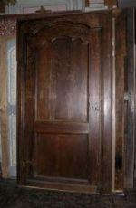 marco pti540 nogal puerta, vintage '700, mis. h max 245 cm x 137