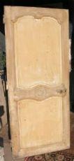 pti549  una porta '700 con fasce mosse, mis. cm 81 x 190, cm2,5