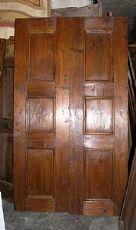 ptir314 porta in larice, mis. cm 120 x 210
