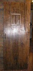 ptir325una Tür mit Fenster in Kastanie, mis.CM72 xh 196
