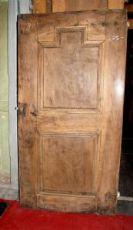 rustikale Tür in Nussbaum Hoch Piemont, mis. 175,5 x 89,5 cm h