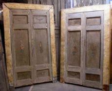ptl351 n. 2 portas semelhantes, com mármore quadro lacado falso, mis. larg.cm137x H222 /