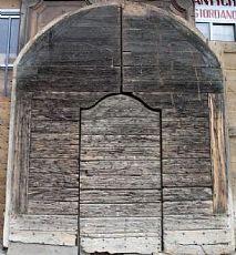ptn194 große Stachel Tor mit Zentraltür mis wiederhergestellt werden. l max. 306 cm xh 367