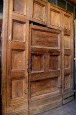 ptn199 Tür mit Mitteltür, Walnuss Roh cm Breite mis.h 314 x 253.