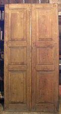 pts442 n.6 porte doppie in larice mis. cm108 x h 215