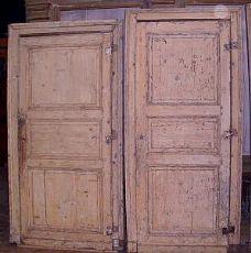 pts459 n.4 portes avec trois panneaux 90 x 210 cm, 11 cm + cadre