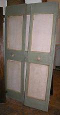 pts470 Satz von Türen aus dem Kloster, mis.ca. 98 x 197 cm