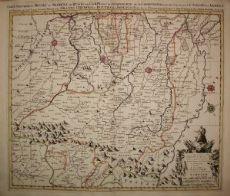 Parma Reggio Emilia Modena - Sanson / Mortier 1720